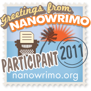 NaNoWriMo Participant Badge for 2011