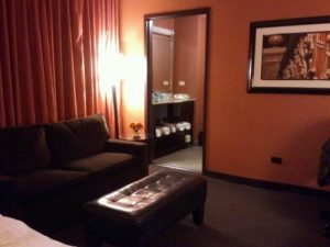 My room at the Hampton Majestic