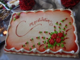 Sigma Tau Delta Induction - Cake