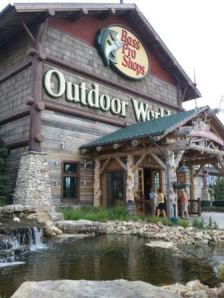 Bass Pro Shop in Peoria Illinois