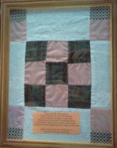 Grandma Wilma's Quilt block