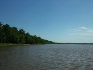 Illinois River north of Peoria