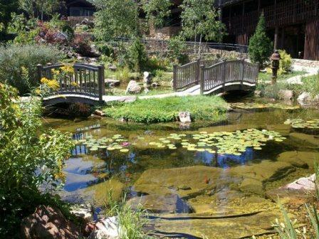 Japanese garden at House on the Rock
