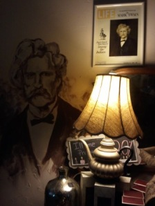 Mark Twain at Perc Place, Hartford, WI