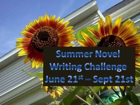 Join the official Write Your Novel this Summer Challenge (2/2)