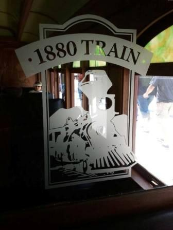 We rode the 1880 Train from Hill City to Keystone.