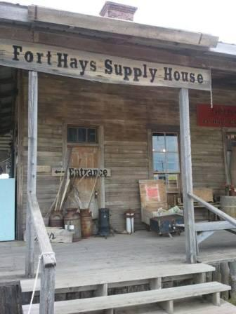 Fort Hays Chuck wagon show
