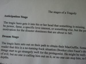 stages of tragedy