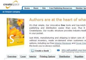 createspace, print on demand