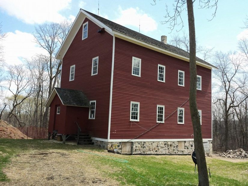 Grist mill at Richfield Historical Park