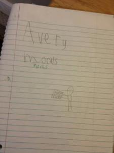 Avery's book project