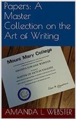 Kindle cover for my new book, Papers: A Master Collection on the Art of Writing.
