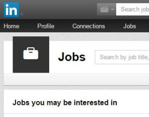 linkedin jobs page