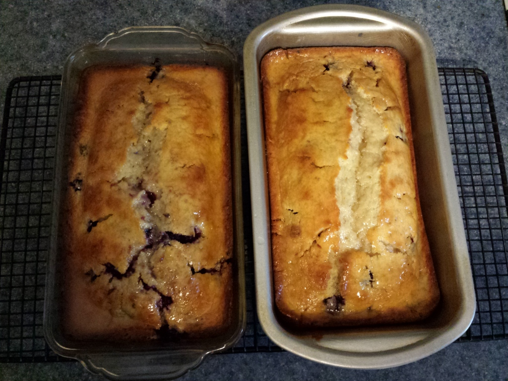 Blackberry Lemon Loaf