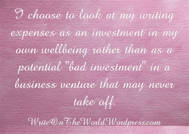 writing investment in wellbeing