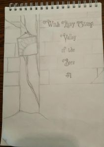 A friend of mine is sketching out some ideas for the cover of With Envy Stung: Valley of the Bees #1. What do you think?