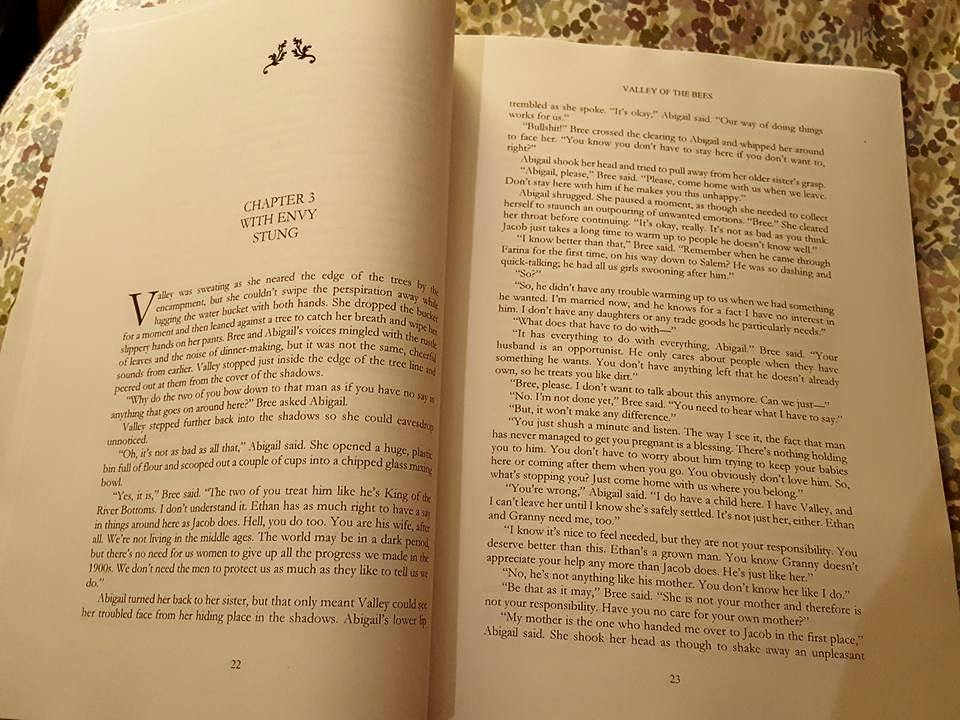 The Valley of the Bees Omnibus print edition is shaping up quite well!