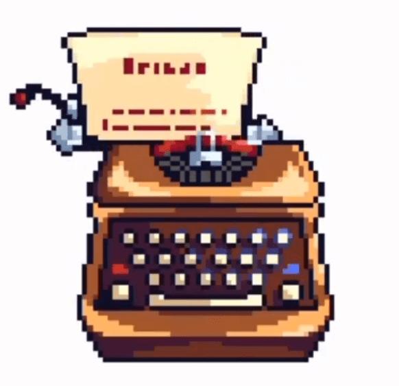 Typewriter image made using Sandbox app in Android.